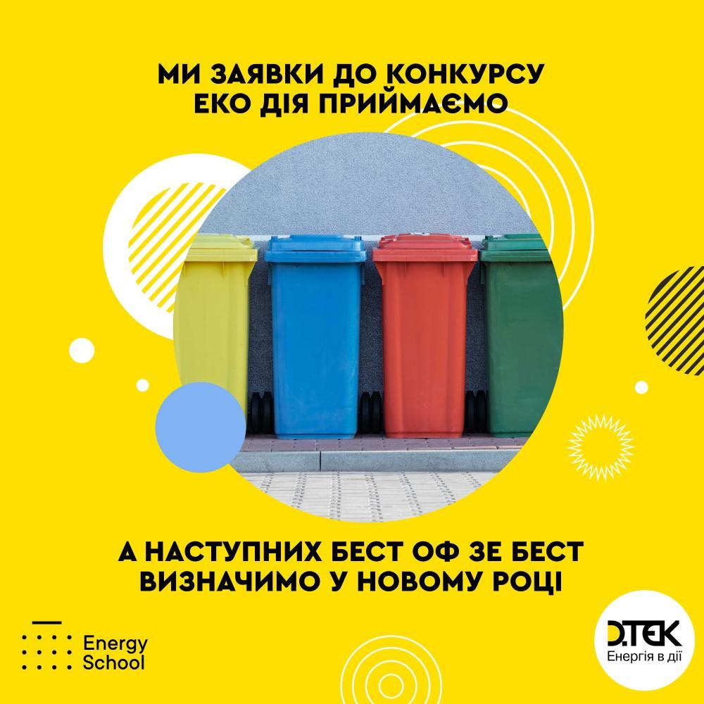 Наступні результати конкурса ЕКО дія будуть у Новому 2021 році